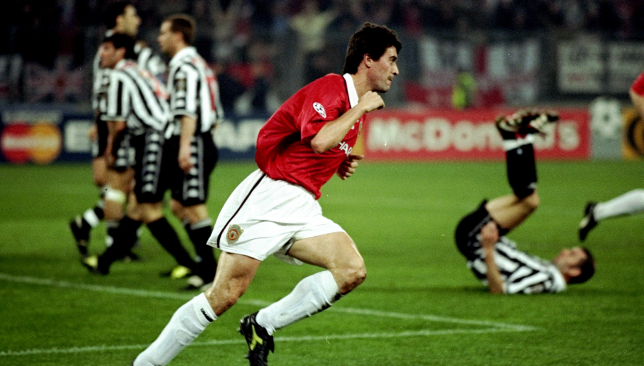 Roy Keane's moment