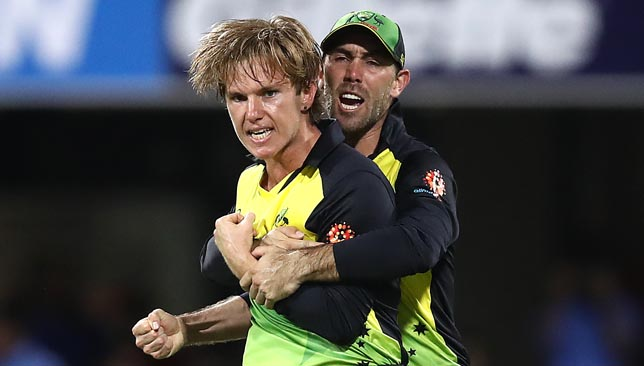 Adam Zampa picked up two wickets.