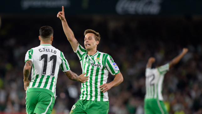 Sergio Canales has been in good form for Real Betis