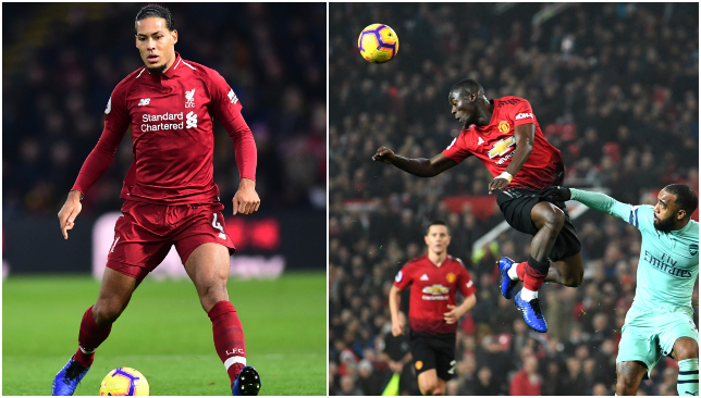 Van Dijk and Bailly.