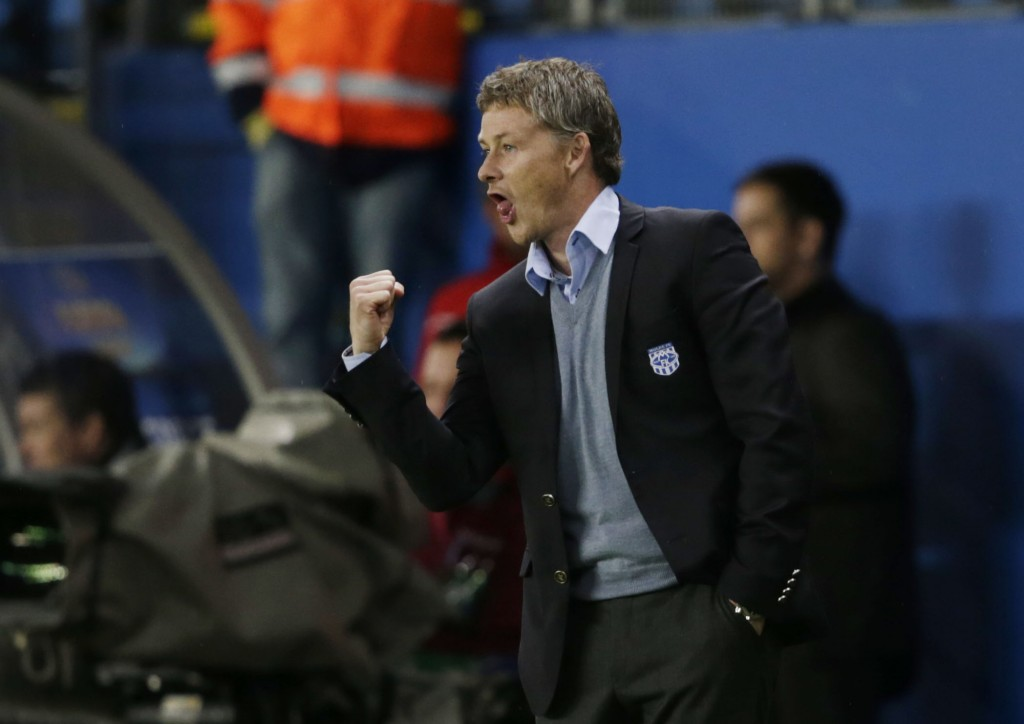 Solskjaer's first three seasons at Molde were hugely successful.