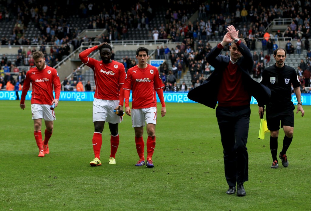 Solskjaer was unable to save Cardiff from relegation.