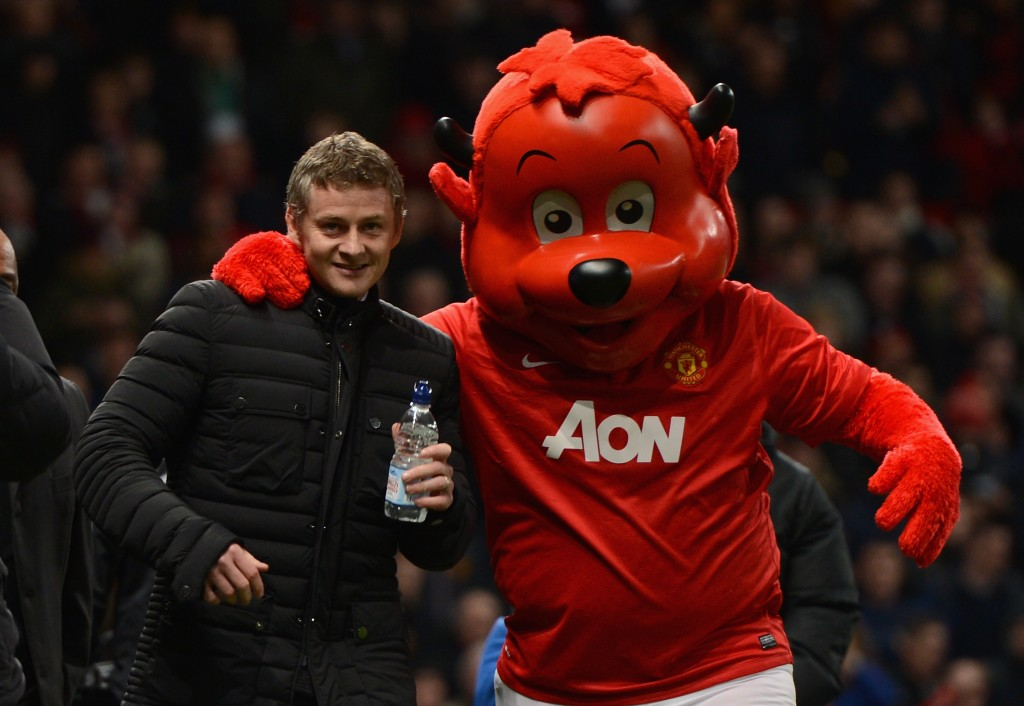 Solskjaer is an Old Trafford favourite.