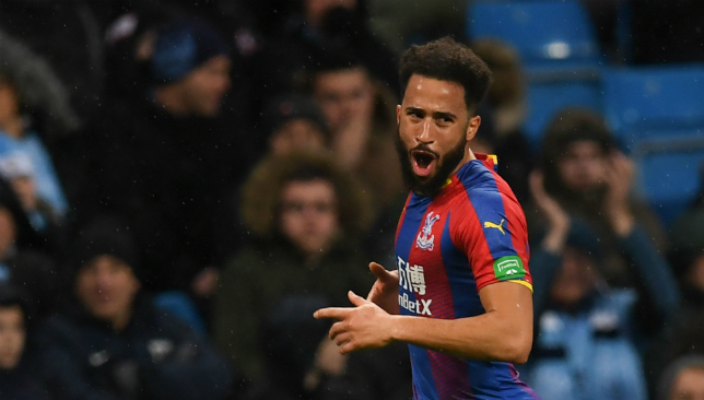 Andros Townsend stunned Manchester City with an early contender for goal of the season.