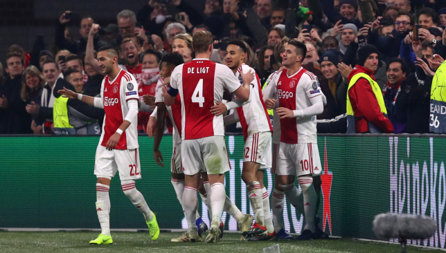 Blind enjoyed a memorable 2018/19 campaign with Ajax.