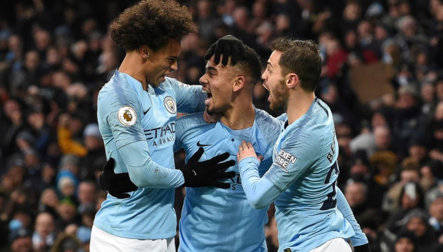 Manchester City dominated Everton