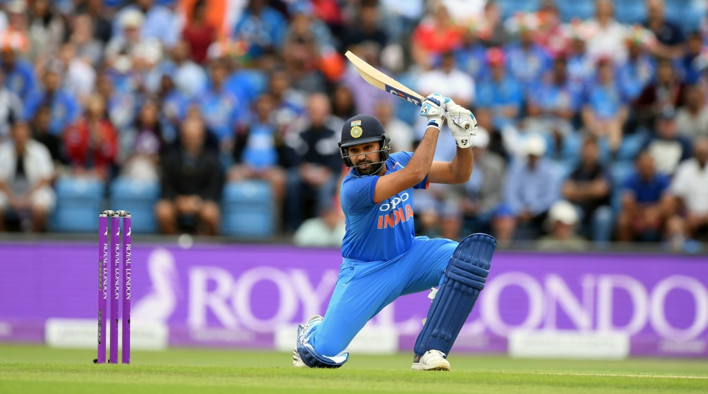 Rohit Sharma hit new heights in white-ball cricket.