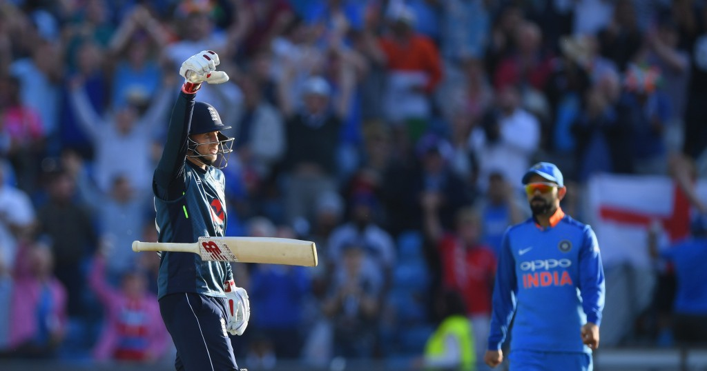 Root with the 'mic-drop' at Lord's.
