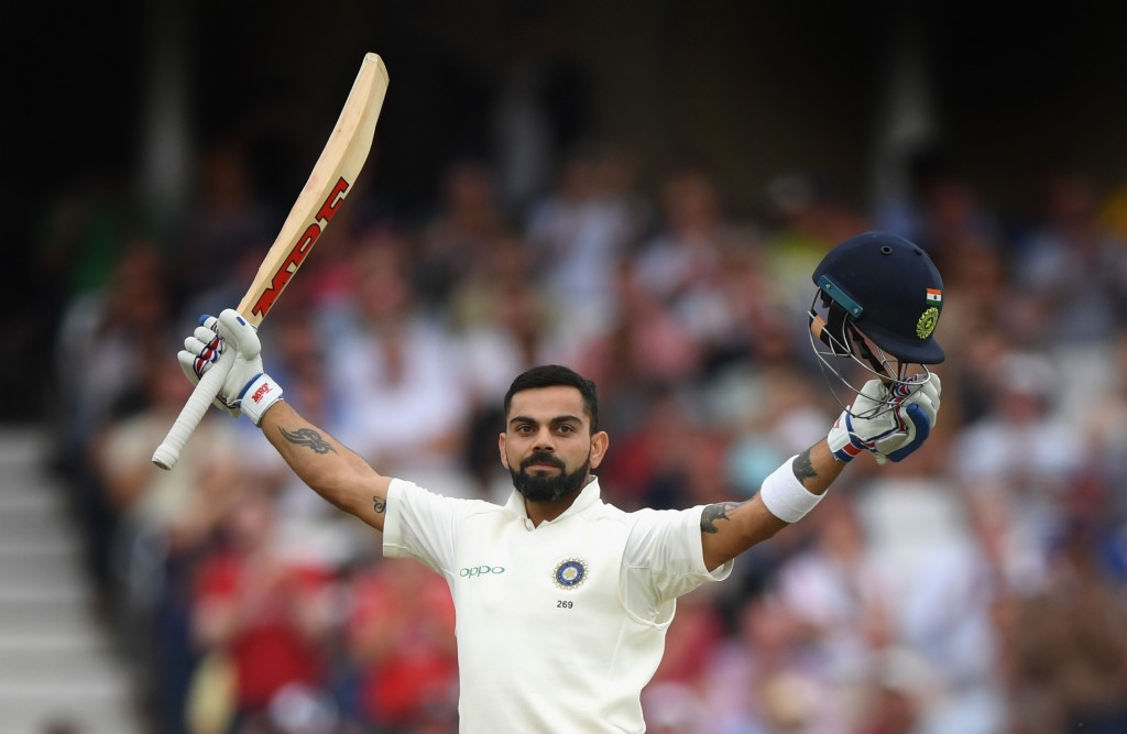 A momentous year in Test cricket for King Kohli.