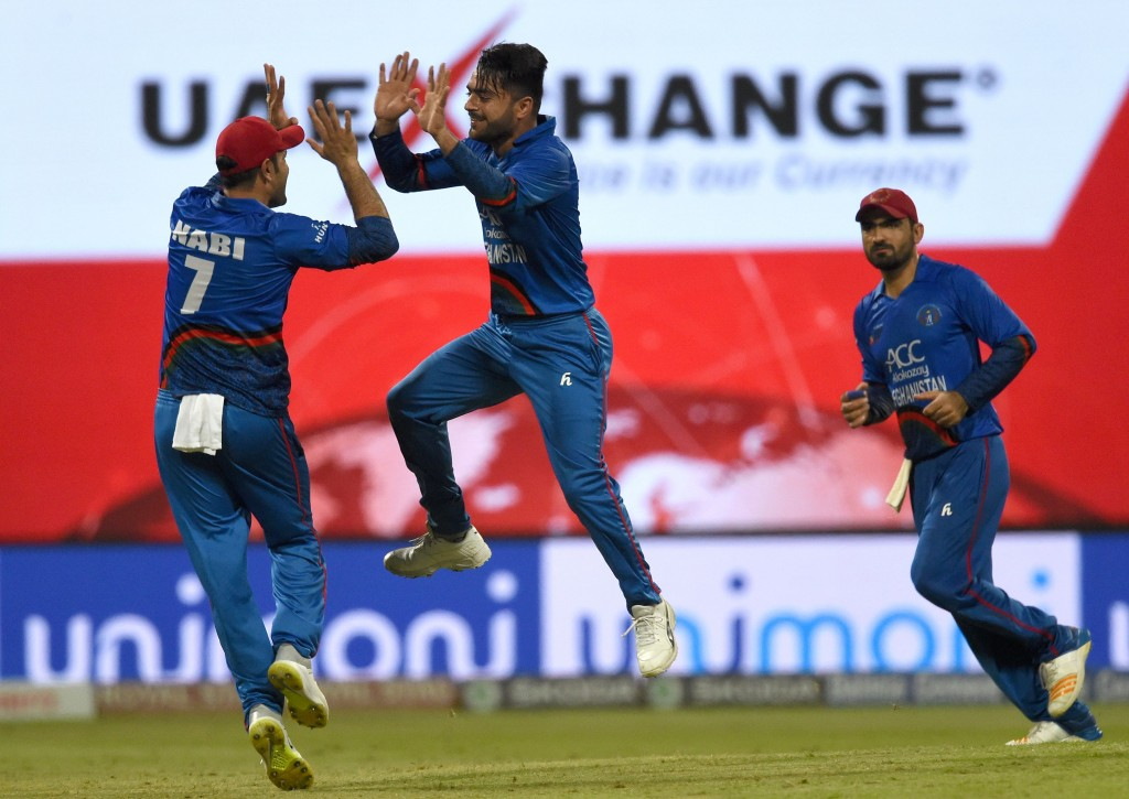Rashid Khan continues to go places.