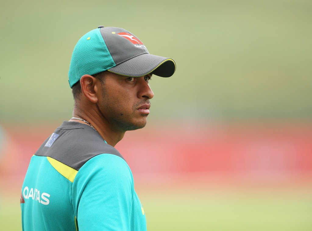 A man for home conditions: Usman Khawaja.