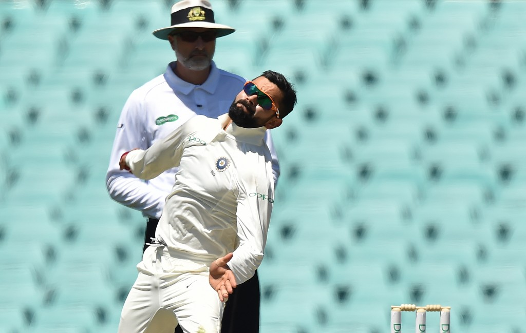Kohli rolled down his arm too and bagged a wicket.
