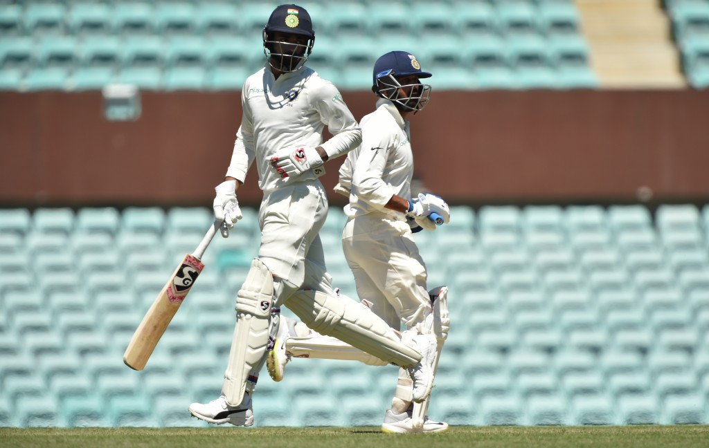 Timely knocks by Vijay an Rahul in India's second innings.