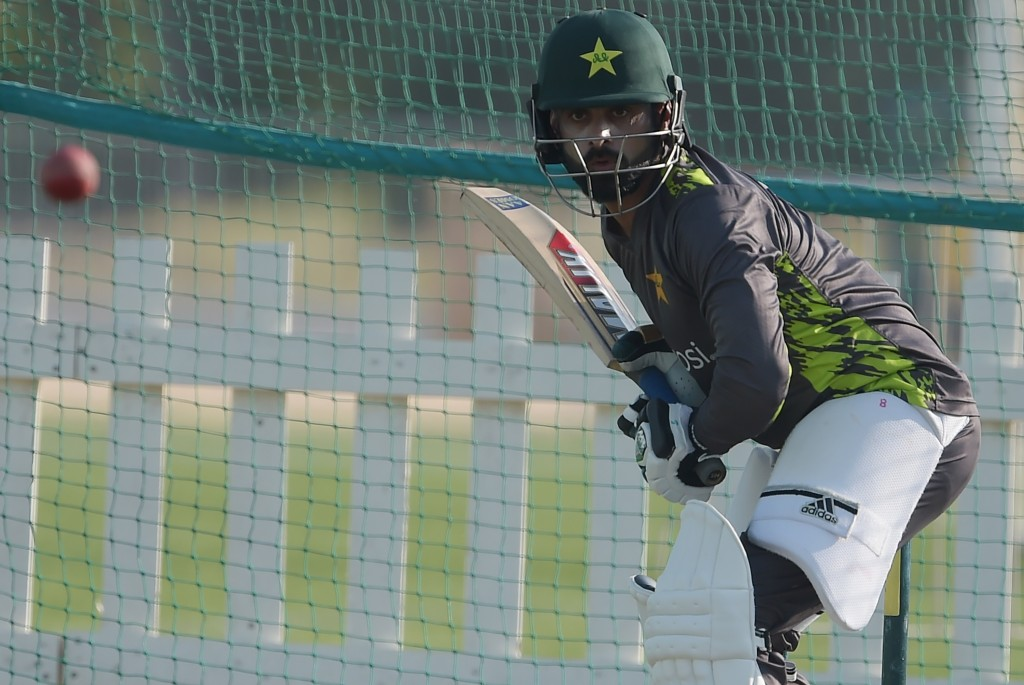Time for Hafeez to step up with the bat.
