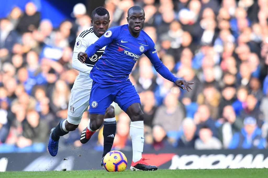 Sarri has been criticised for his use of N'Golo Kante.