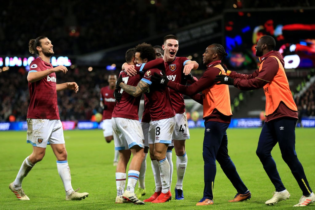 In form: West Ham.
