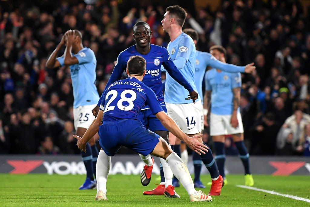 Chelsea's huge win against City.