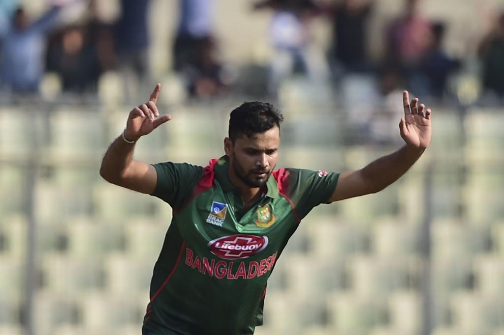 Mortaza will lead Bangladesh in the 2019 World Cup.