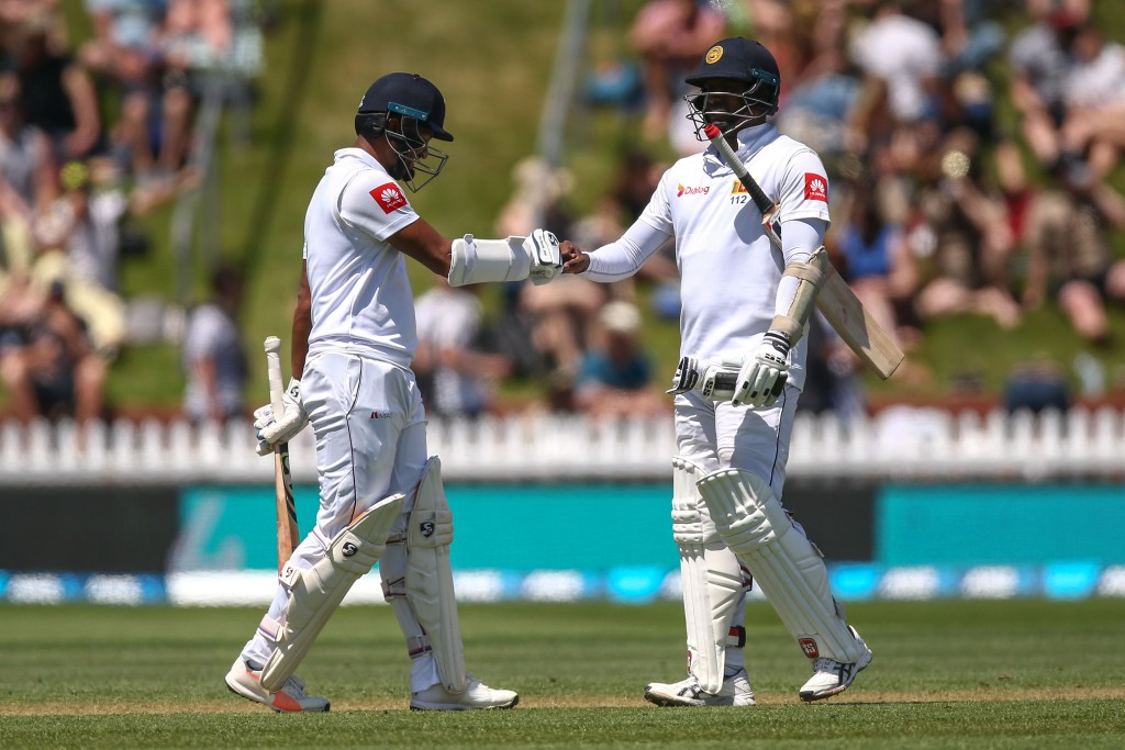 Karunaratne and Mathews led the Sri Lanka fightback.