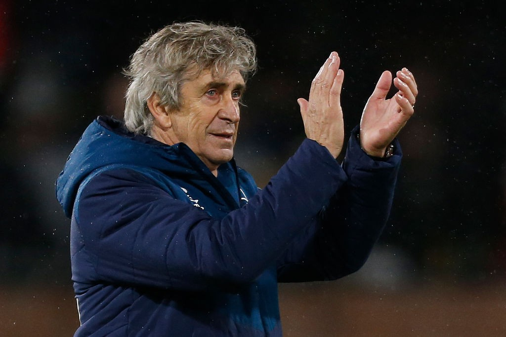 West Ham United's Chilean manager Manuel Pellegrini