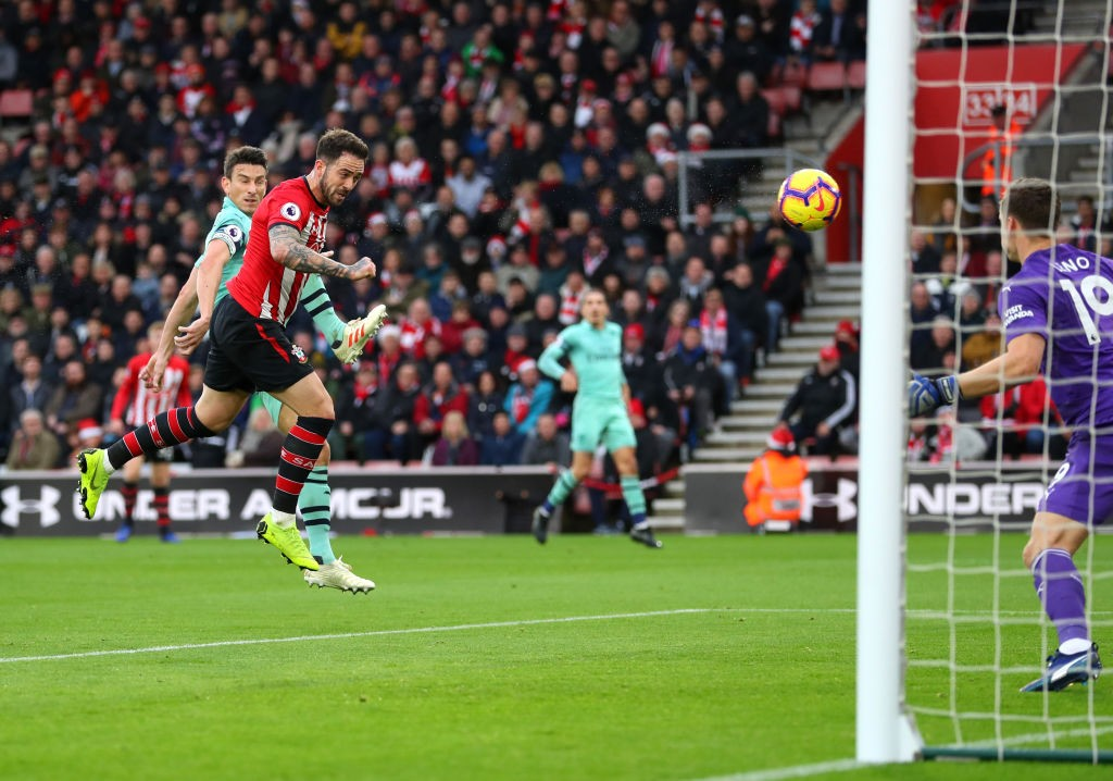 Danny Ings opens the scoring for Southampton