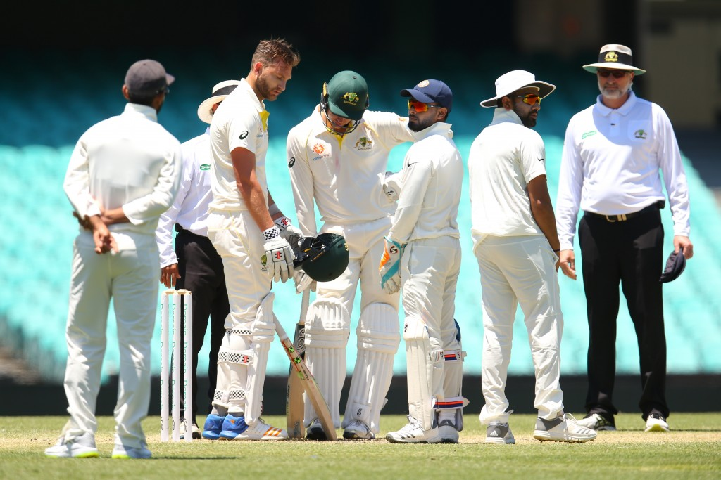 India were given a thorough workout by Cricket Australia XI.