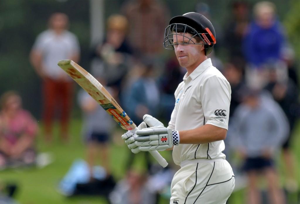 New Zealand's Henry Nicholls.