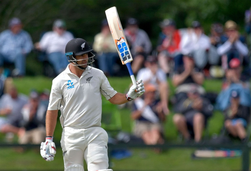 A record half-century from Colin de Grandhomme.
