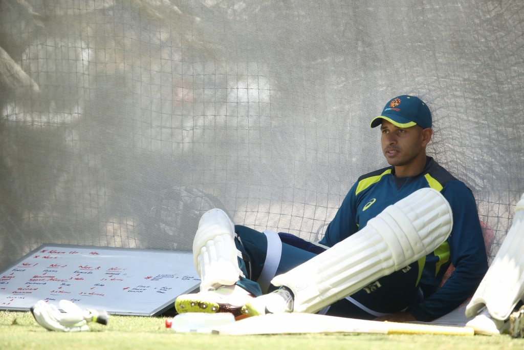 Khawaja is expected to bat at No3 in the series against India.