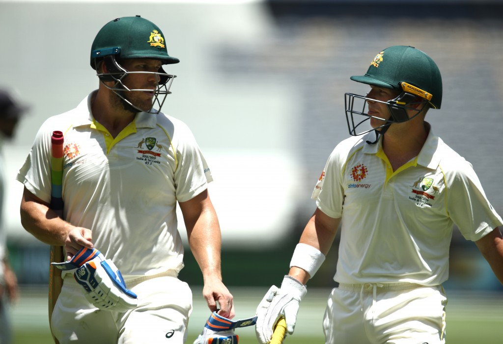 Australia's opening pair stood up to the task.