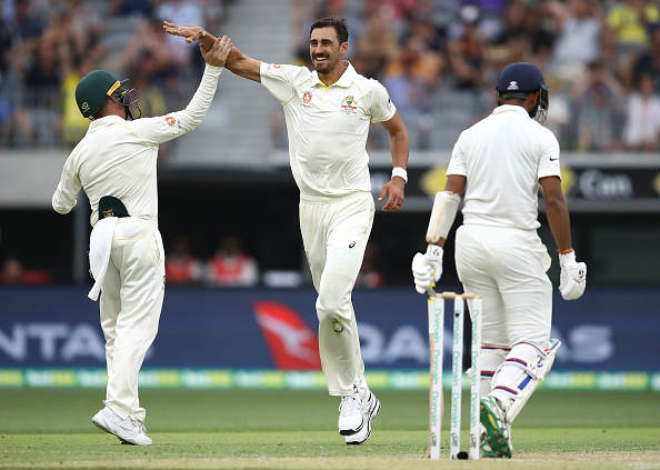 Starc made Australia's pressure count with a big wicket.