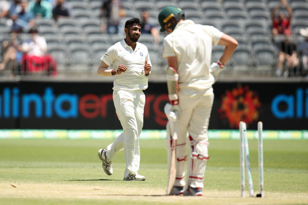 Bumrah has been beating batsmen through sheer pace.
