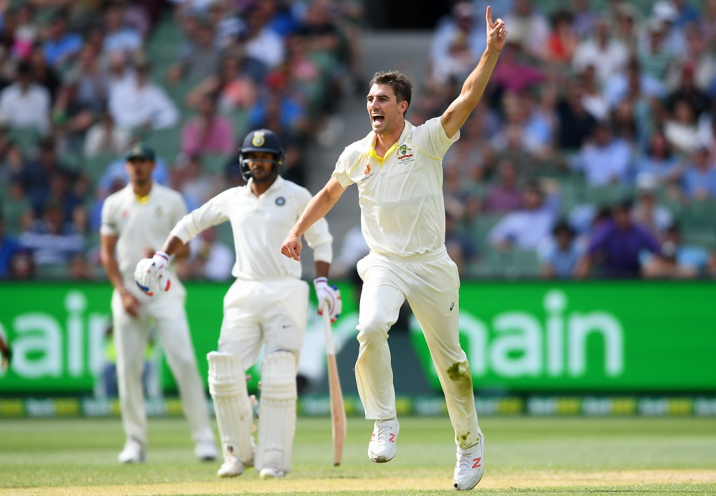 Cummins has given Australia a slim opening.