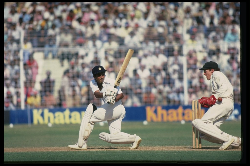 A contentious Test for Gavaskar.