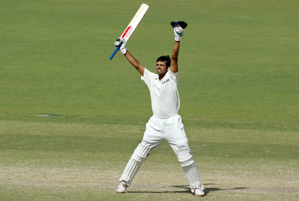 A colossal effort from Rahul Dravid.