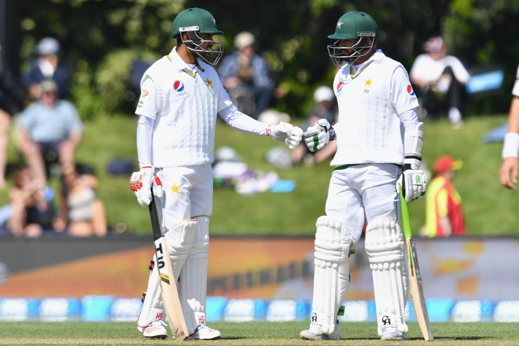 Babar Azam and Azhar Ali looked solid with the bat.
