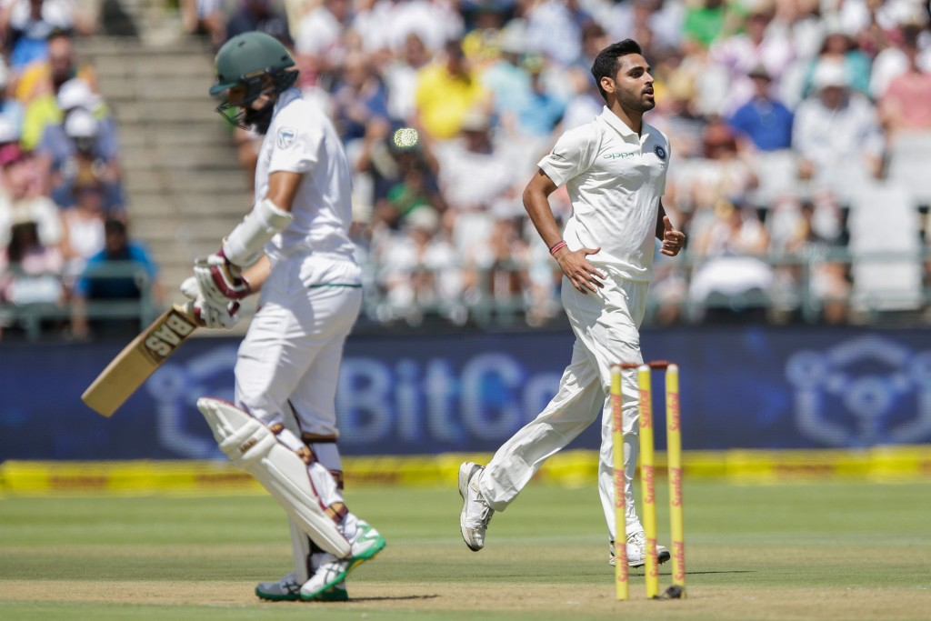 Bhuvi started the year on fire in the Newlands Test.