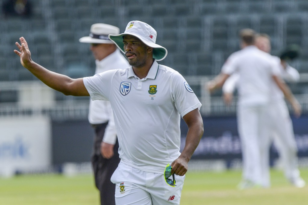 Philander is nursing a fractured finger.