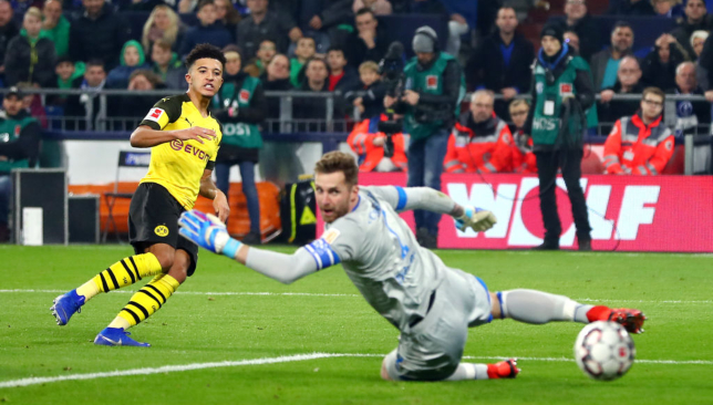 The FA is investigating Jadon Sancho's move from Watford to City four years ago.