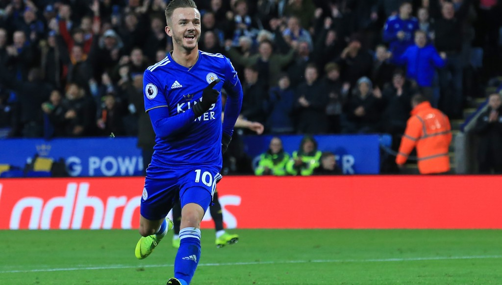 Back with a bang: James Maddison.
