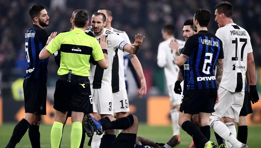 Georgio Chiellini war sein bester Gegner gegen Inter.