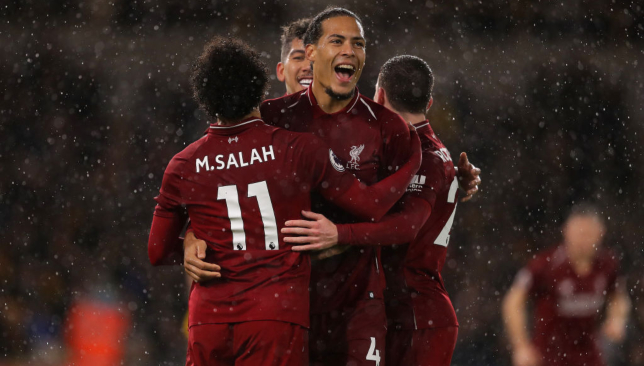 Virgil van Dijk's addition has solidified the Reds.