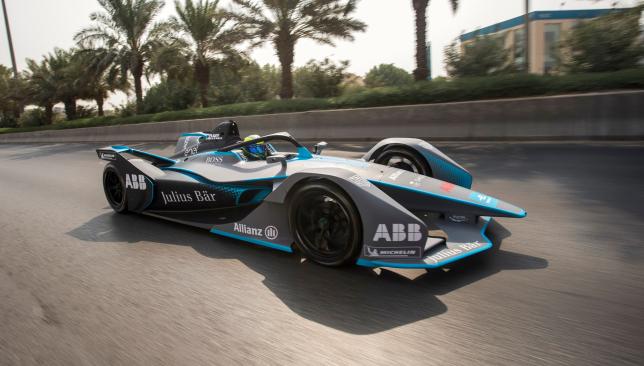 Formula E Felipe Massa Takes On The Fastest Animal On Earth In The