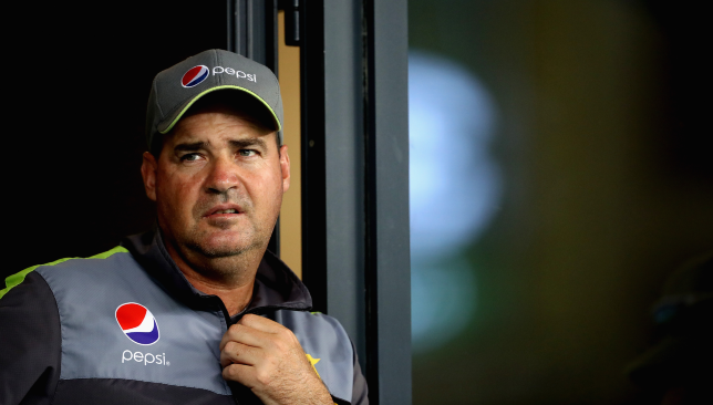 Pakistan head coach Mickey Arthur.