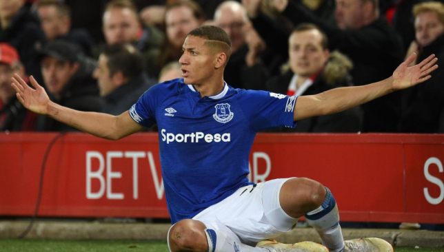 Richarlison has been among the goals for Everton