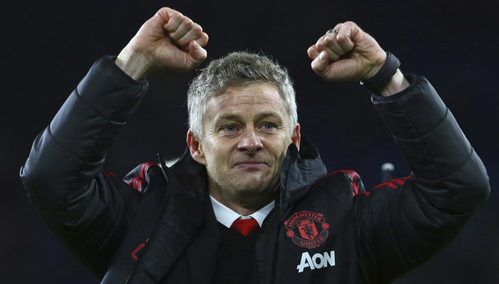 After leading United to emphatic victory in Cardiff, Solskjaer is looking forward to leading United out at Old Trafford.