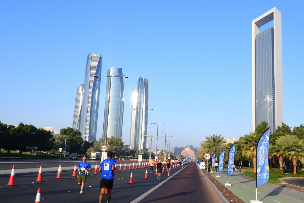 The UAE capital provided a dramatic backdrop to the inaugural ADNOC Abu Dhabi Marathon (1)