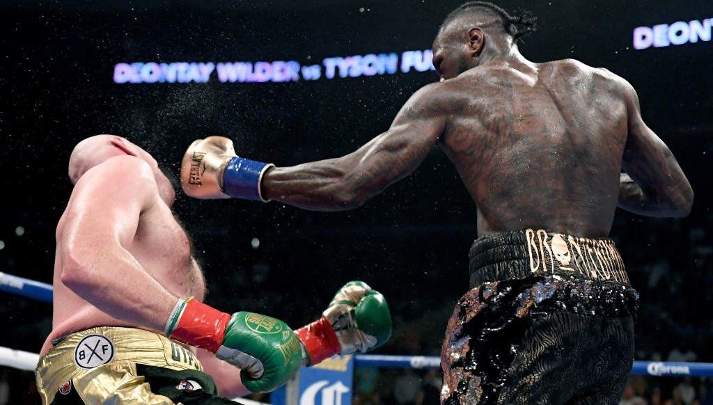 Fury somehow survived a big knockdown by Wilder in the 12th round.