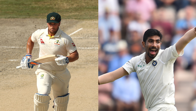 The battle at the top: Finch v Bumrah.