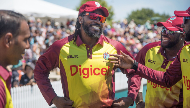 West Indies icon Chris Gayle.
